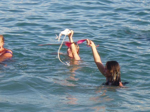 naked on beach bridget fonda